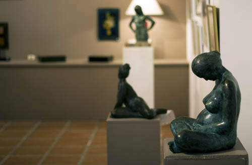 Sculptures de Pierre Pallaro, photo Pauline